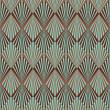 Art Deco style seamless pattern texture — Stock Photo #21903301
