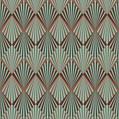 Art deco styl bezešvé pattern textura — Stockfoto