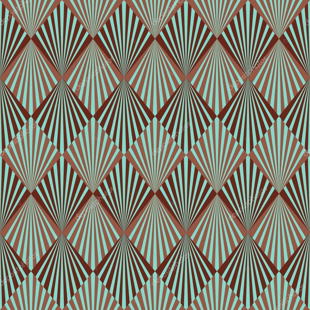Art Deco Patterns: Art Deco Style Seamless Pattern Texture