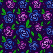 Roses pattern — Stock Photo