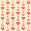 Seamless hearts pattern — Stock Photo #27467589