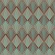 Art Deco style seamless pattern texture — Stock Vector