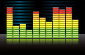 Equalizer — Stock Vector