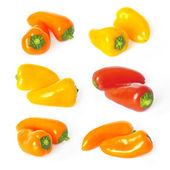 Sweet mini peppers — Stock Photo