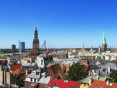 Riga roofs — Stock Photo