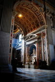 Coolness of the Cathedral of St. Peter in a sunny summer day — Stock Photo