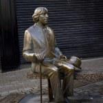 Gallway statues — Stock Photo