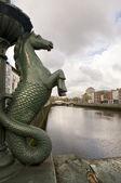 Dublin city — Stock Photo