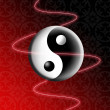 Yin e Yang — Stock Photo