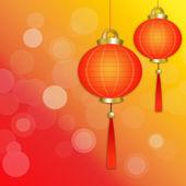 Chinese lantaarns — Stockfoto