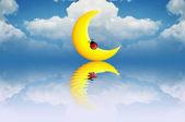 Sonhe com os anjos — Foto Stock