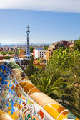 Gaudì's Parc Guell in Barcelona — Stock Photo