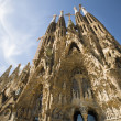 Exterior of Sagrada Familia in Barcelona — Stock Photo