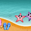 Starfish in love — Stock Photo #27565649