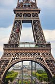 A particular of Eiffel tower in Paris — Stock Photo