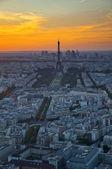 View of Pari city at sunset — Stock Photo