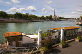 View of Seine in Paris — Stock Photo