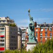 Statue of Liberty in Paris city  — Stock Photo