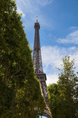 Eiffel tower in Paris — Stock Photo
