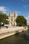 Cathedral Of Notre Dame In Paris — Stock Photo