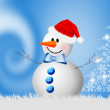 Snowman for Christmas — Foto de Stock