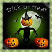 Trick or treat for Halloween — Stock Photo