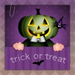 Trick or treat for Happy Halloween — Stock Photo #32415967