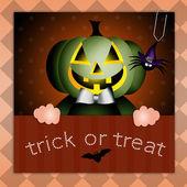 şeker ya da numara cadılar bayramı için — Stok fotoğraf