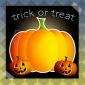 Trick or treat for Happy Halloween — Stock Photo