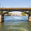 Foto Stock: Pont des art on Seine
