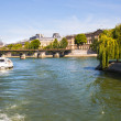 Stock Photo: Seine river