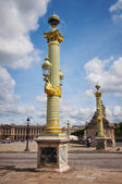 Place de la Concorde in Paris — Stock Photo