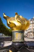 Flame of liberty in Paris — Photo