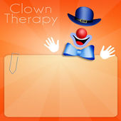 Clown Therapy — Stock Photo