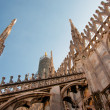 View of Milan cathedral — Stock Photo
