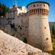 Brescia Castle in Italy — Stock Photo