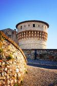 Brescia Castle in Italy — Foto de Stock