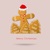 Biscuits for Christmas — Stock Photo