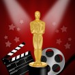 Stock Photo: Oscar statuette