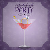 Drink for Bachelorette party — Stock Photo