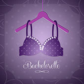 Bra for Bachelorette party — Stock Photo