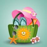 Beach bag — Stock Photo #49915943