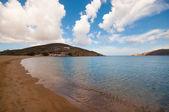 Ftelia beach a mykonos — Foto Stock
