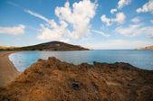 Ftelia praia em mykonos — Foto Stock