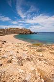 Fokos beach in Mykonos — Stock Photo