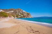 Elia beach in Mykonos — Stock Photo