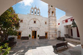 The monastery of Panagia Tourliani in Ano Mera, Mykonos — Stock Photo