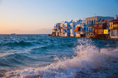 Little Venice in Mykonos — Foto Stock