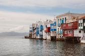 Little Venice in Mykonos — Stock Photo