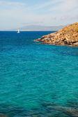 Kapari beach in Mykonos — Stock Photo